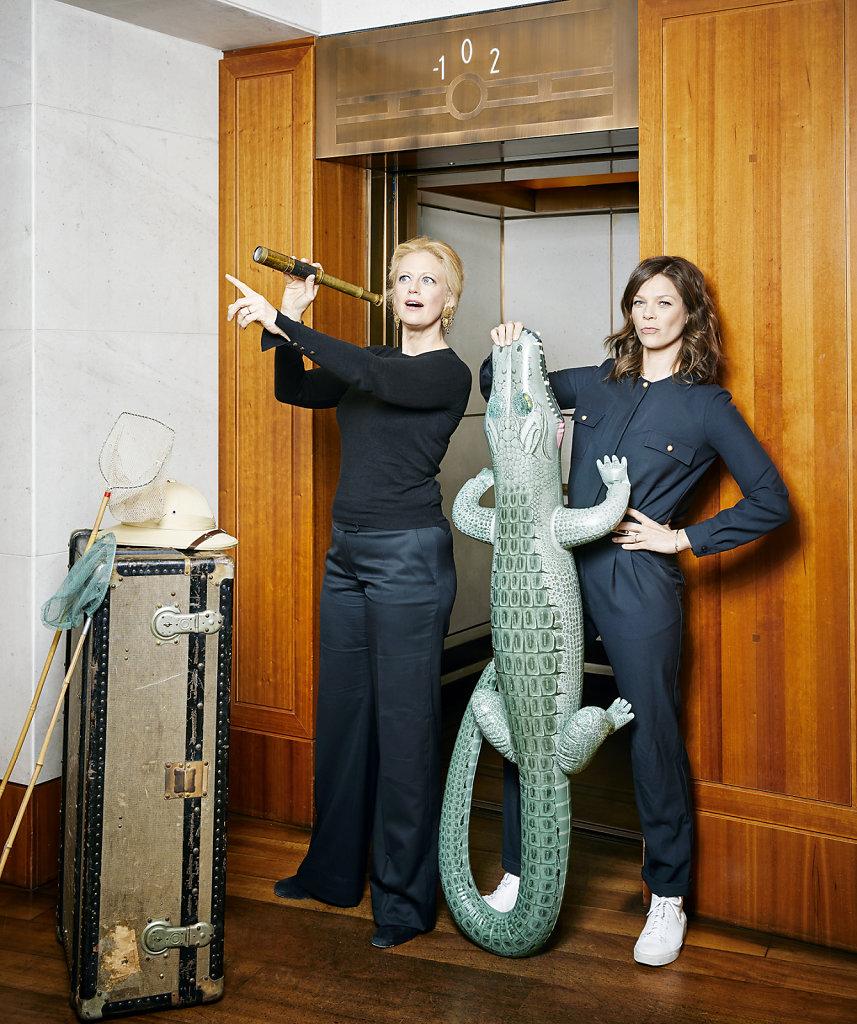 Barbara Schöneberger & Jessica Schwarz
