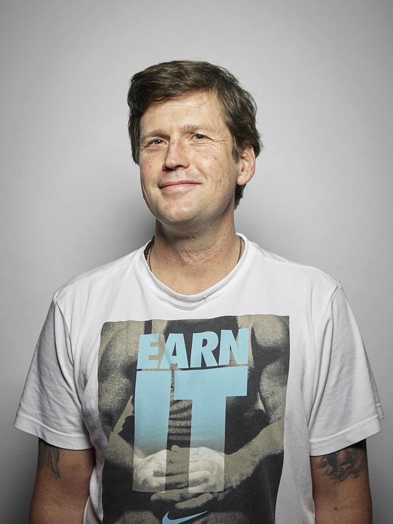 Portrait Darren Grey