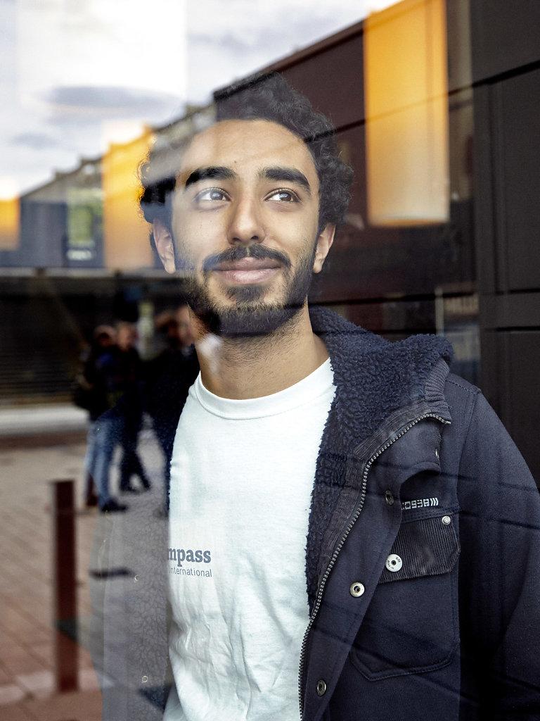 Portrait Abdallah El-Breshy