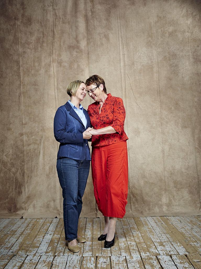 Dr. Brigitte Dormeyer und Sandra Wulf