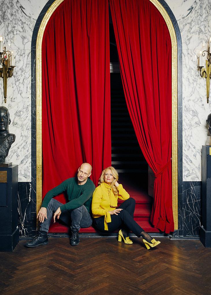 Barbara Schöneberger & Joachim Meyerhoff