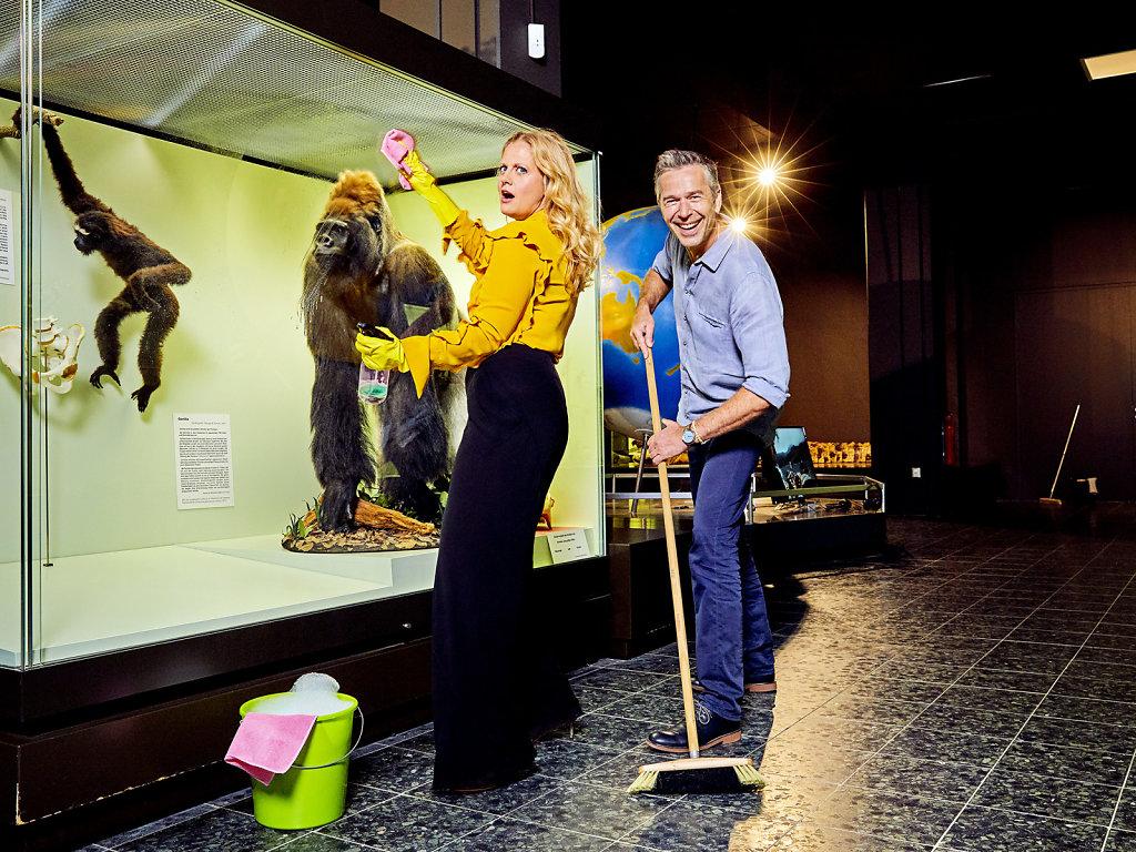 Barbara Schöneberger & Dirk Steffens